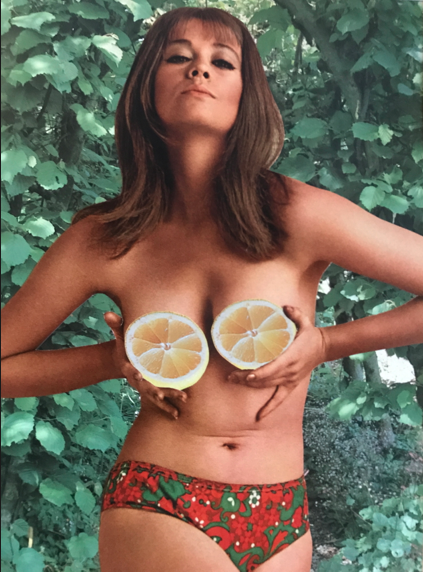 Her Sunday Zest, 2019 Collage